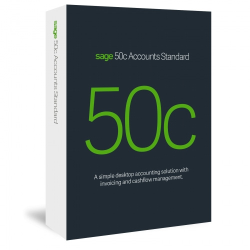 Sage 50c Standard - Software supply and licencing, Support and Training for Sage in Ireland