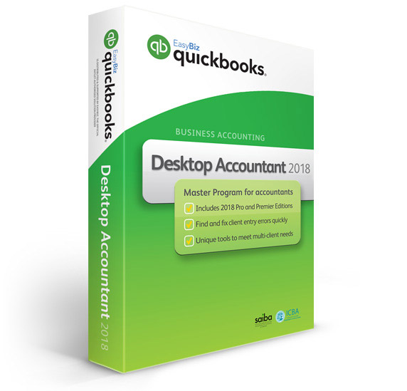 QuickBooks Desktop Accountant 2018 - Accountancy Software - Software supply and licencing, Support and Training for Quickbooks in Ireland