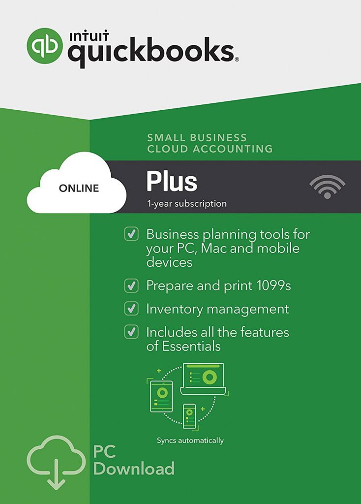 QuickBooks Online Plus - small business cloud accounting